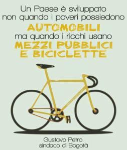 Un paese è sviluppato quando i ricchi usano le biciclette