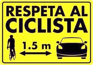 Rispetta il ciclista