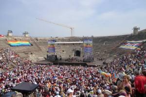 25 aprile 2014 Arena di Verona, Arena per la Pace
