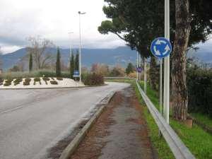 Termine-ingresso-rotonda-pista-ciclabile-pronto-soccorso-ospedale versilia