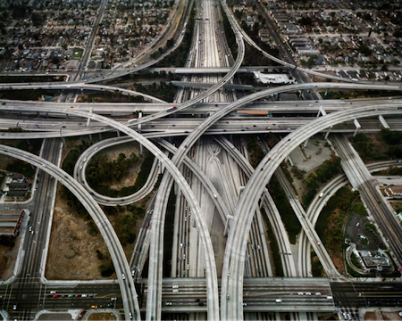 enorme svincolo autostradale los angeles