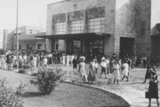 Stazione di Viareggio 1936 circa