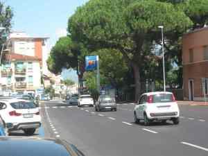 Vialone due corsie Stazione Viareggio piazza Dante