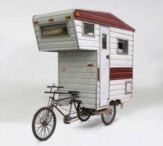 Cargo bike roulotte camper