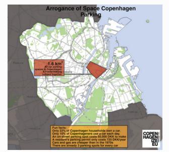 Copehnagen Parking Space