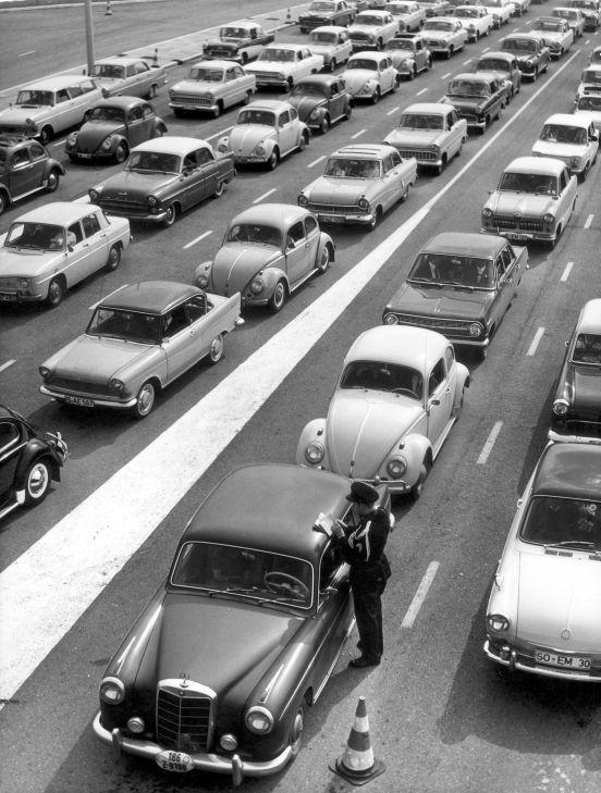 Traffic jam holland