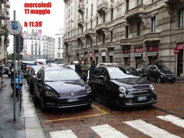 Milano seconda fila chiacchiere