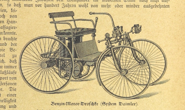 Quadriciclo a benzina sistema Daimler
