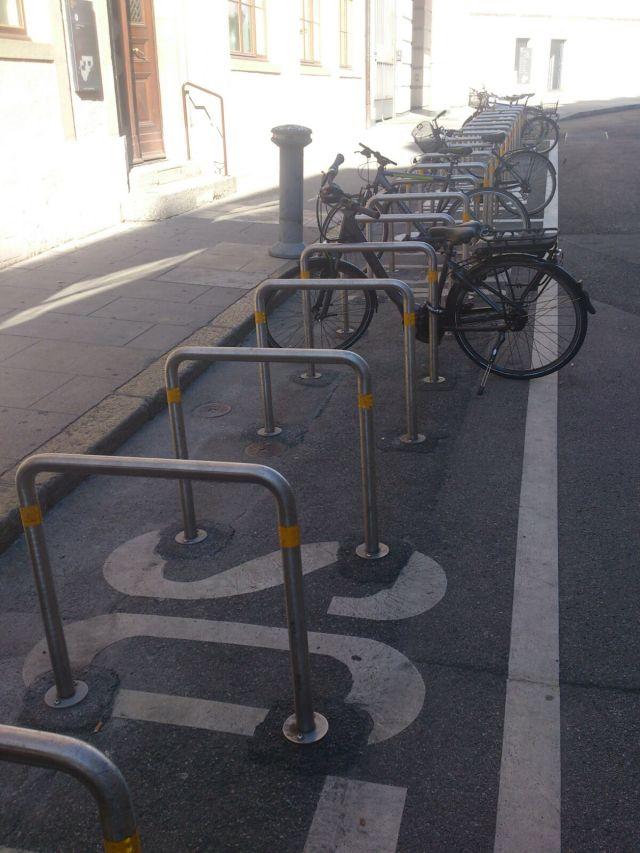 stalli per bici a Ginevra 2016