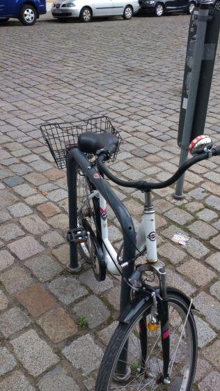 Stalli per biciclette Dresda parcheggio dettaglio