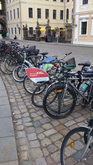 Stalli per biciclette Dresda parcheggio