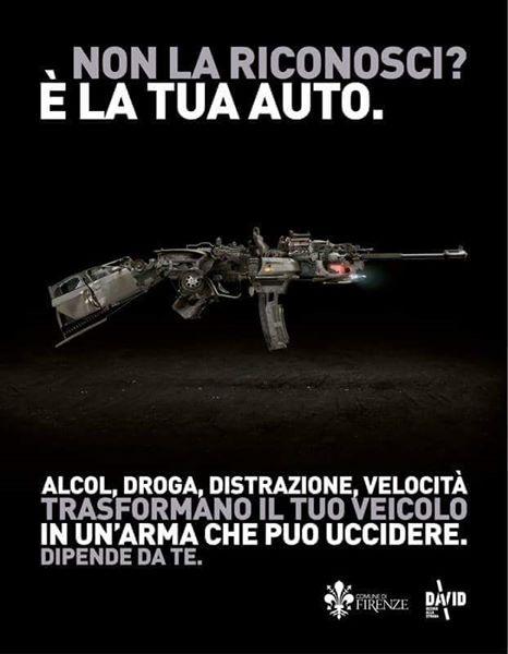 la tua auto è un'arma comune di Firenze