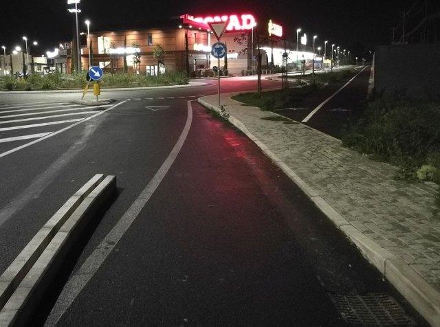 pista ciclabile Conad Viareggio