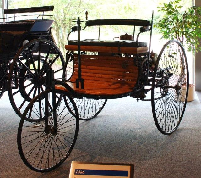 foto velociped motorwagen karl Benz-1886