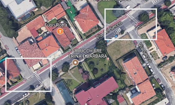 Pista ciclabile di via del Secco Camaiore Screenshot 2017-11-01 17.11.55