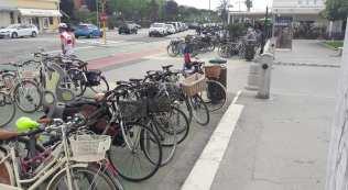 stalli per biciclette forte dei marmi parcheggi lungomare 1