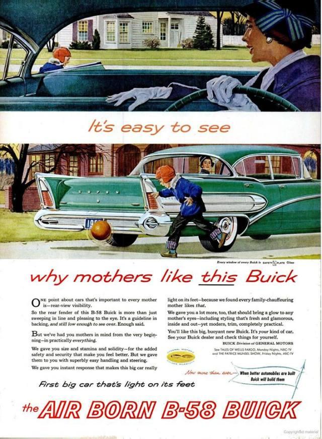 Pubblicità Buick 1958