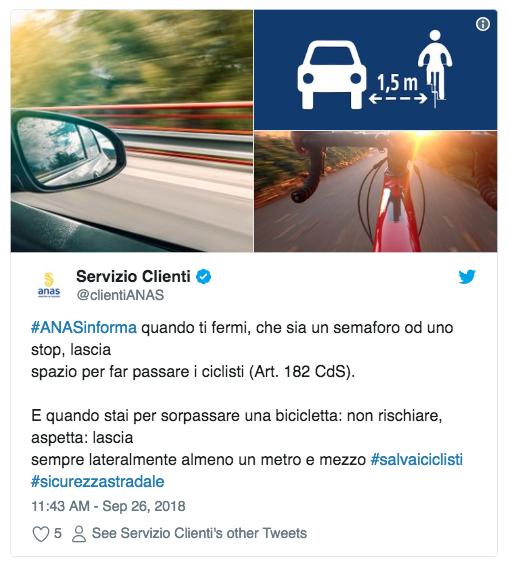 Screenshot 2018-09-27 09.25.21 Anas informa semaforo stop spazio ai ciclisti