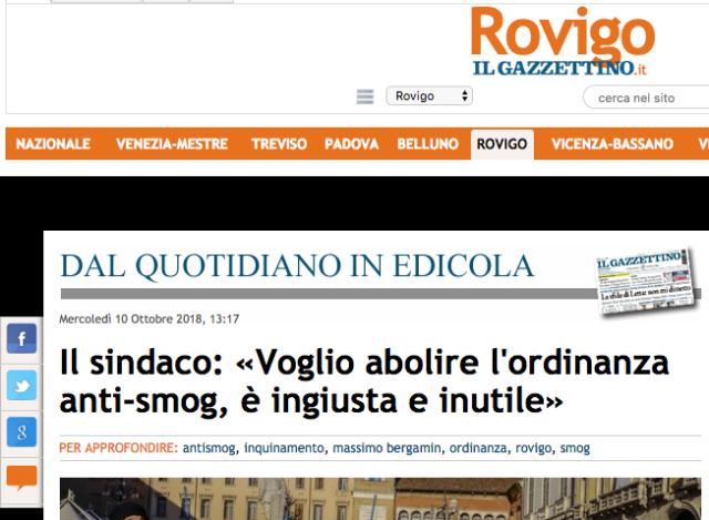 Screenshot 2018-10-14 08.56.48 sindaco Rovigo ordinanza anti smog diesel benzina euro 0 1 2 3